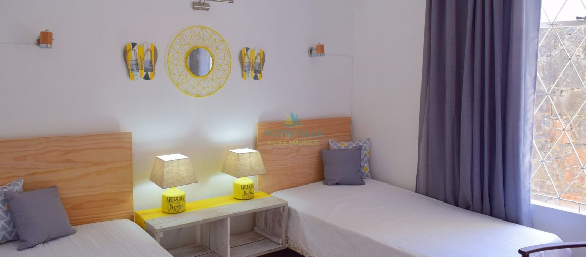 villa Cap Point-ile maurice- chambre no.2