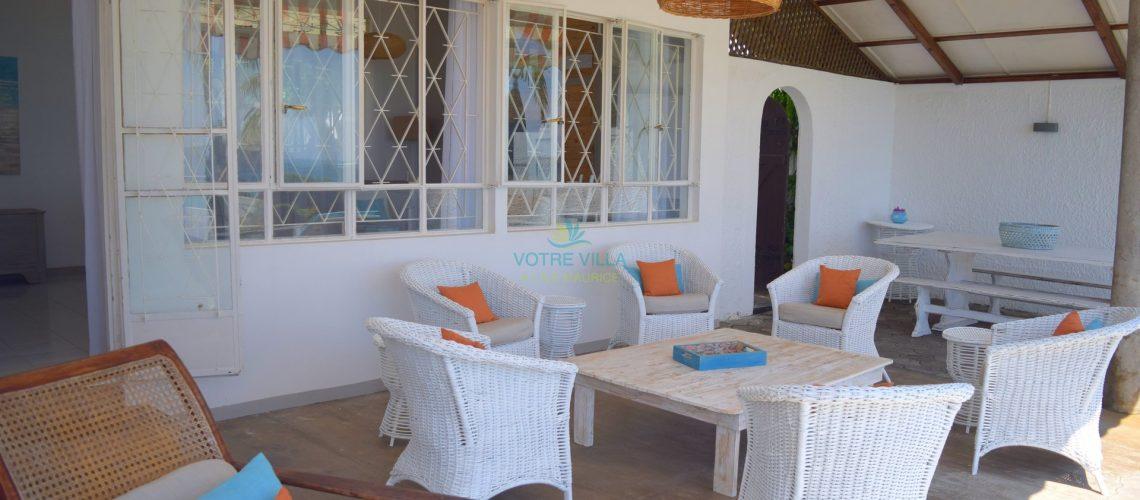 villa Cap Point-ile maurice- terrasse