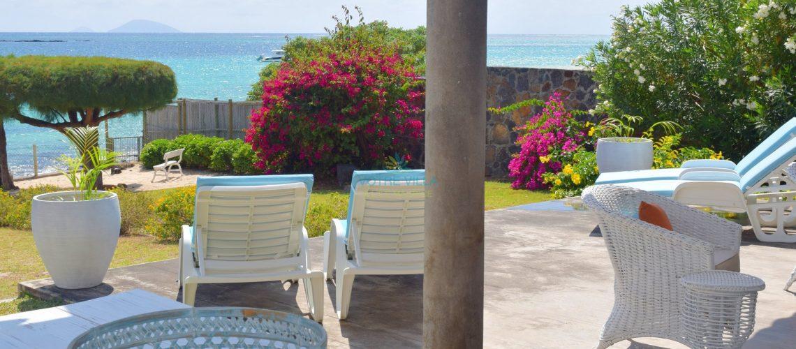 villa Cap Point-ile maurice- vue