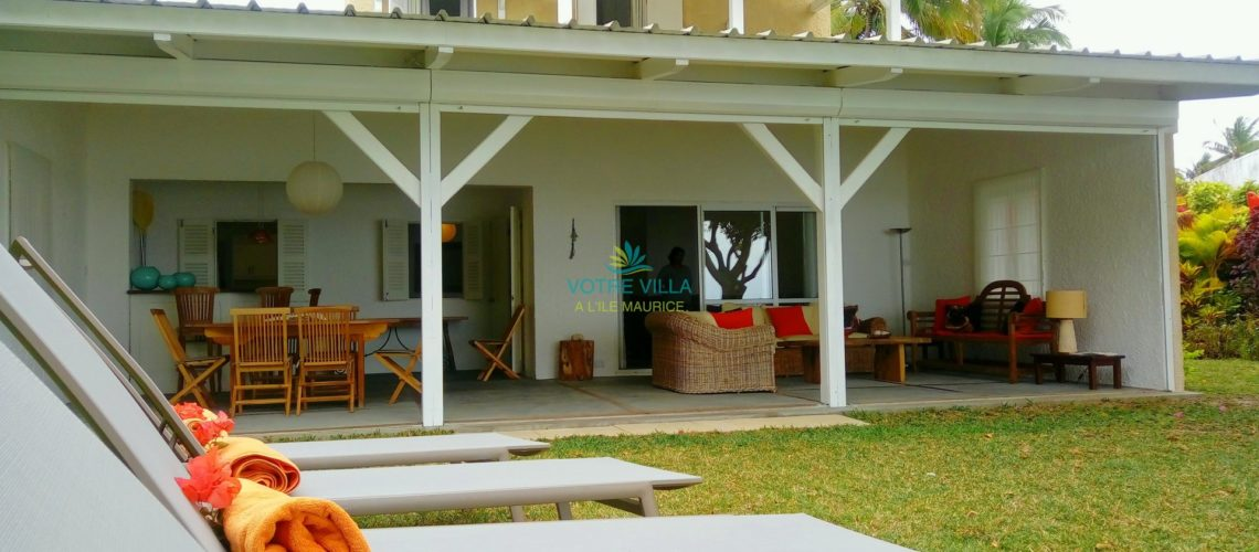 Azur-Ile Maurice-vue du jardin