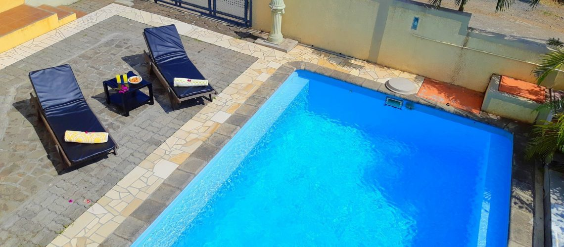 Koki 1-apart 1 ch-ile-maurice-vue piscine