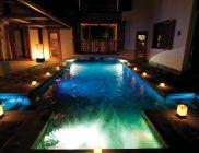Villa Sankhara-ile-Maurice-piscine-ambiance du soir