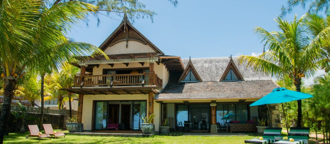 Villa Sankhara-ile-Maurice-vue de face