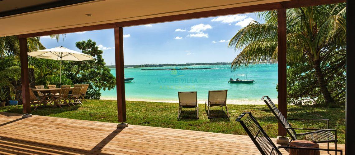 Villa_Azur_Mauritius- vue de la terrasse